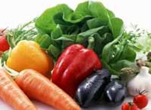 Глянцевые овощи