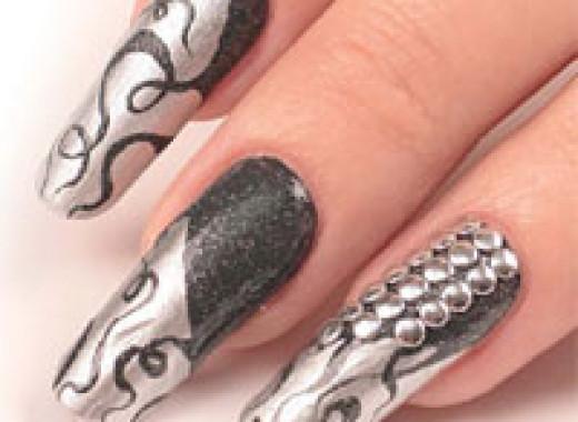 Фото ногтей на показ
