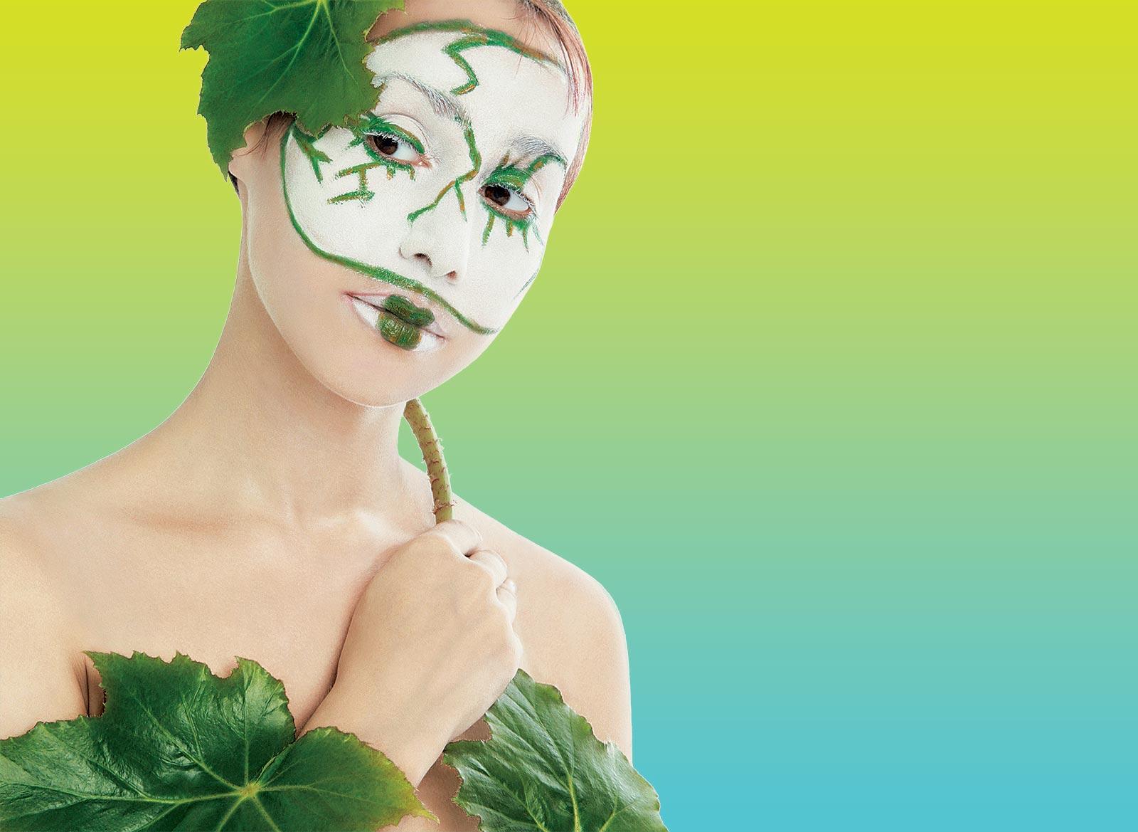 зеленая косметика картинки что каждой