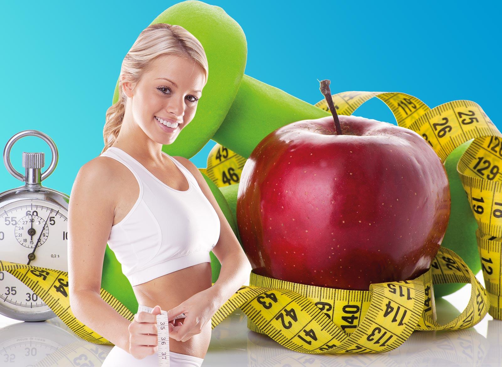 Похудение без диет в домашних