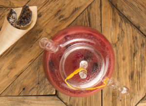 Чай смородиновый с белым шоколадом