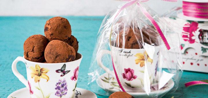 Шоколадные трюфели с виски от Юлии Высоцкой