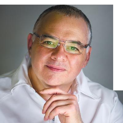 Главный врач московской стоматологической клиники «Ланцет» Дмитрий Гершевич Ланцет.
