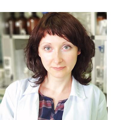 Заведующая лабораторией по разработке новой продукции ООО «ХБО при РАН «ВИТА» Валерия Леонидовна Кулевская.