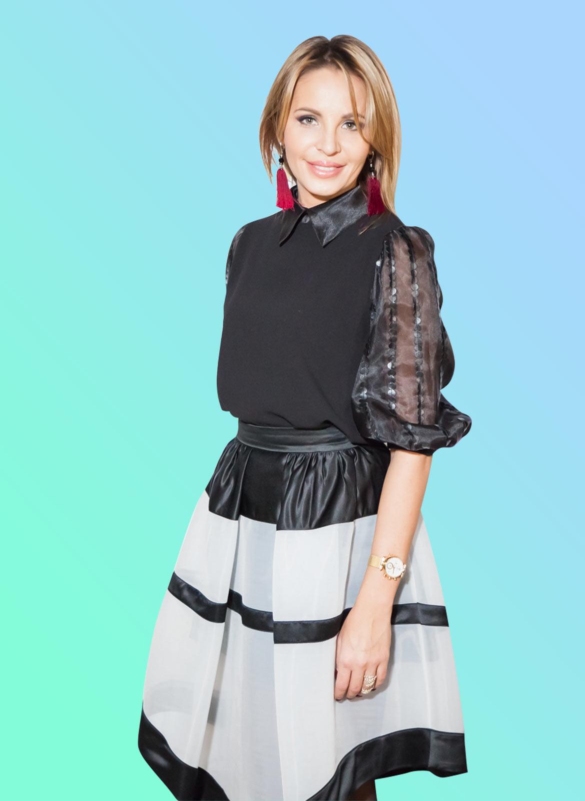 Елена Шерипова, руководитель телевизионной школы моделей Royal Model Agency