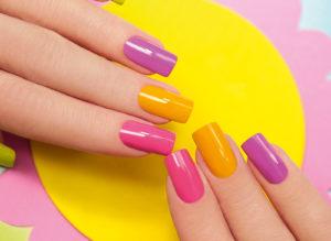 Солнечные ногти